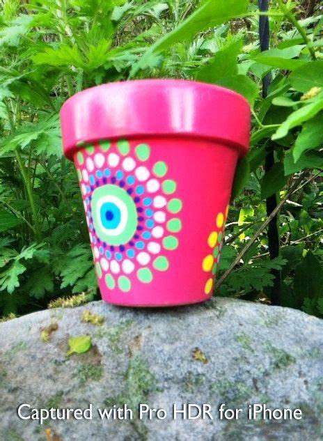Painting Garden Pots Ideas Paisley Painted Flower Pot