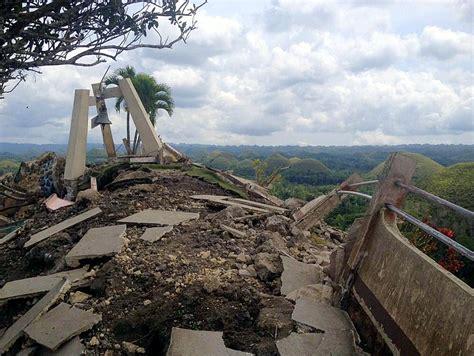 earthquake hill that 7 2 magnitude bohol earthquake bohol and