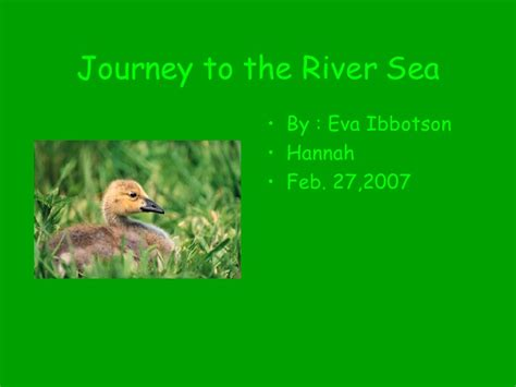 sea journey the ordeal of individuation books journey to the river sea