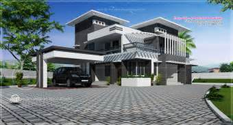 contemporary home plans with photos contemporary home design in 2491 sq kerala home