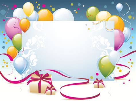 Happy Birthday Templates Greeting Card Template Birthday Card Powerpoint Template