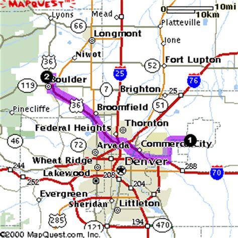map of colorado cities near denver visiting boulder colorado