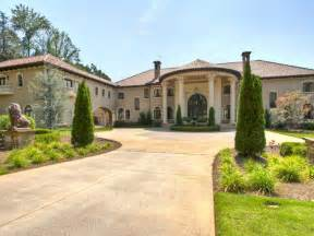 30 000 square foot mediterranean atlanta mega mansion hits