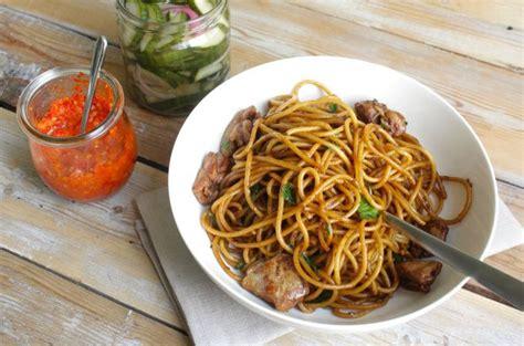 cuisine javanaise recette simple et d 233 licieuse du bami nassi guyanais