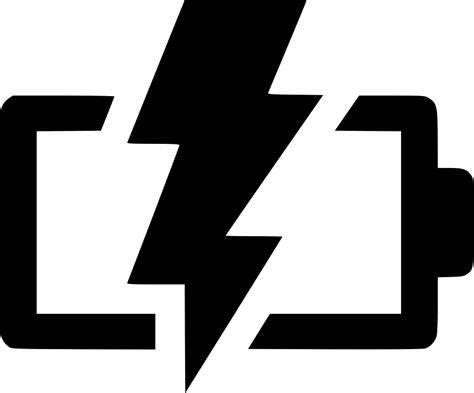 battery charging svg png icon