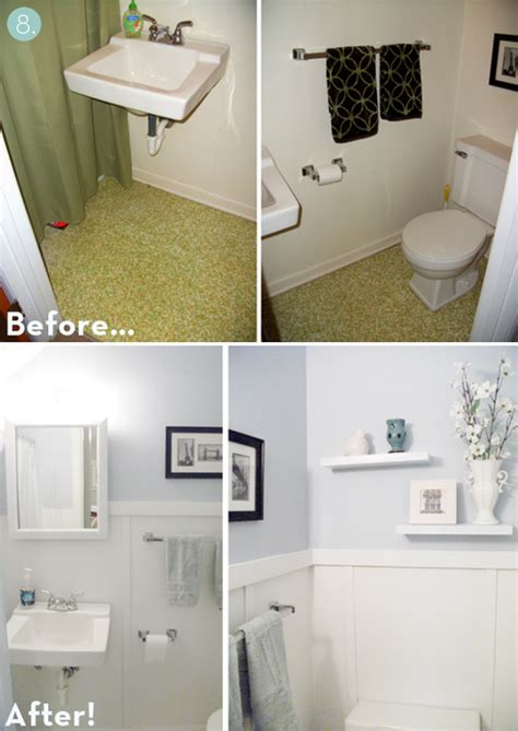 cheap bathroom makeover best of curbly top ten bathroom makeovers of 2011