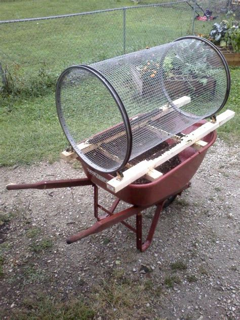 homemade gold trommel design diy compost sifter page 1