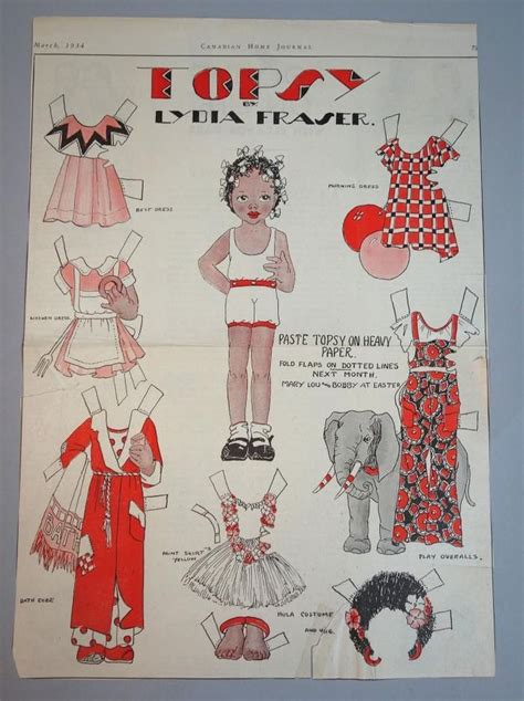 paper doll journal 33 best canadian home journal paper dolls images on