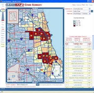 Chicago Police Crime Map by Chicago Police Crime Tracker Submited Images