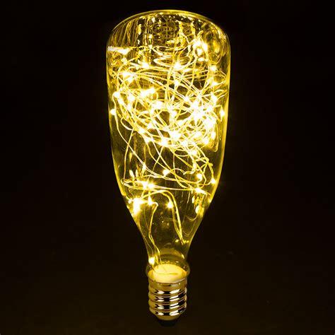 small base led light led bottle light bulbs w integrated led fairy lights 5