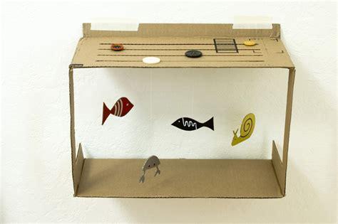 cara membuat rumah 3 dimensi dari kardus cara membuat ape aquarium dari kardus bekas buahatiku