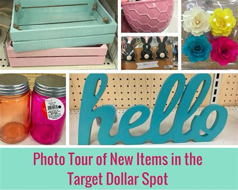 target dollar spot photo tour of new items for spring in the target dollar