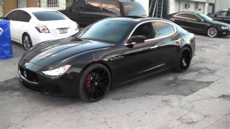 Maserati Rims by Maserati Ghibli Black Rims