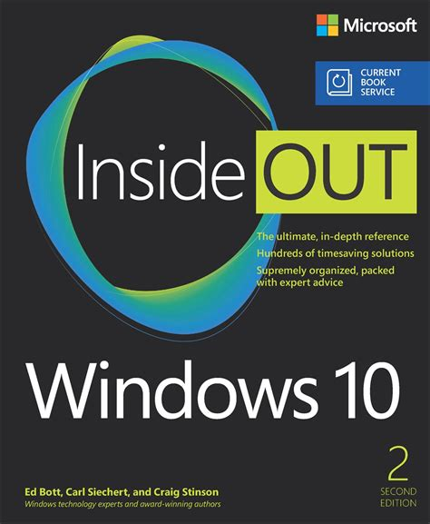 windows 10 step by step 2nd edition books windows 10 inside out includes current book service 2nd
