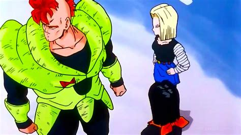 krillin and android 18 android 18 kisses krillin remastered 720p hd