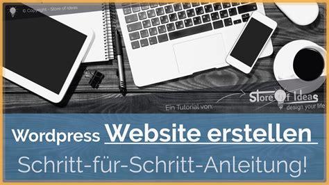 wordpress tutorial deutsch kostenlos wordpress website erstellen wordpress tutorial german