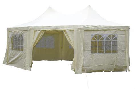 pavillon 6x4 pavillon partyzelt festzelt creme 6x4 4x3 3 m