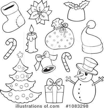 printable christmas illustrations christmas clipart 1083298 illustration by visekart