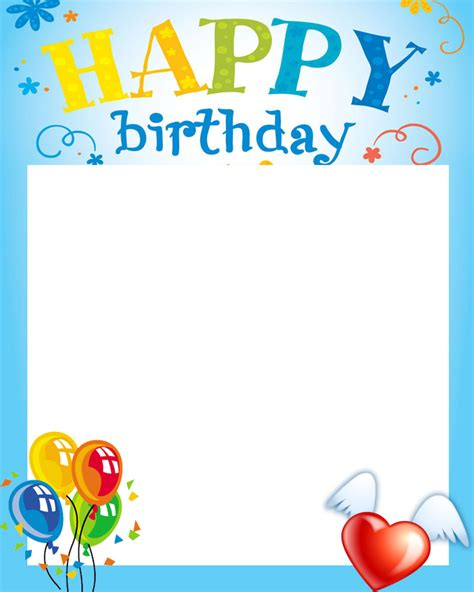 free happy birthday frame android forums at