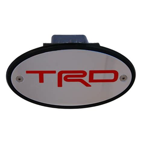 Toyota Trailer Hitch Cover Toyota Trd Licensed Chrome Receiver Hitch Cover