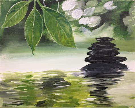 Rock Out With The Creative Zen Rock Geddit by Paint Nite Now And Zen At Bight