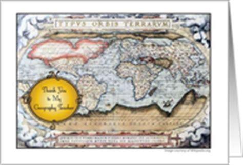 Geography Birthday Card