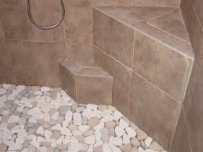 dusche bodengleich fliesen pebble shower floors for tiled showers how to install