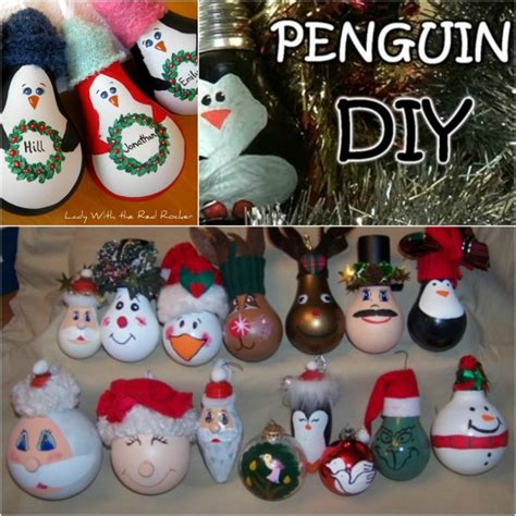 fantastic diy light bulb christmas ornaments diy crafts