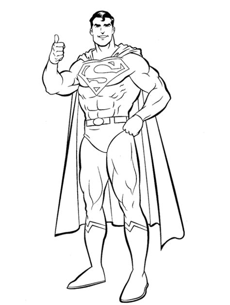 30 superman coloring pages coloringstar
