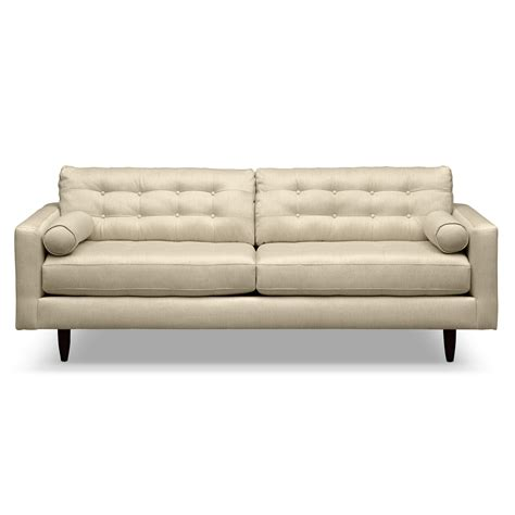 fresh stunning white button tufted leather sofa with 25728