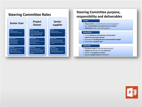 Project Steering Committee Presentation Template Project Steering Committee Presentation Template