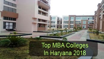 Best Mba Colleges In Us by Top Mba Colleges In Haryana 2018 List Rating