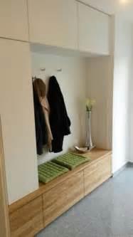 garderobe eiche massiv garderobe in eiche massiv und wei 223 matt modern flur