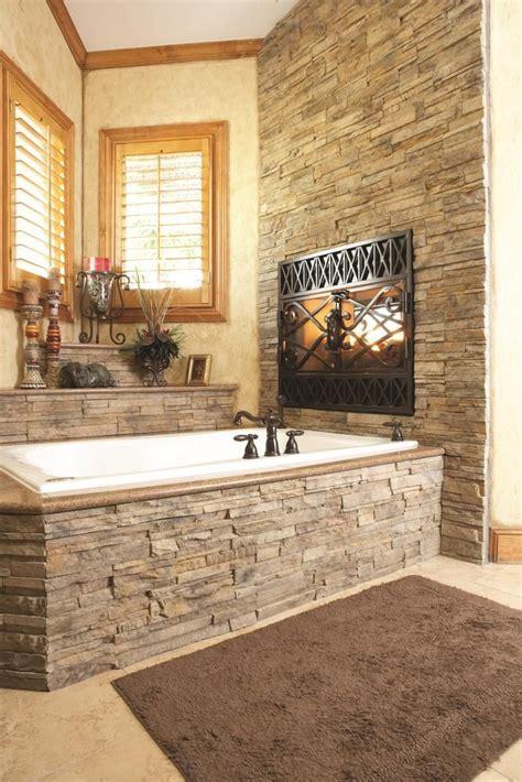 stacked stone bathroom builddirect manufactured stone veneer manufactured stone