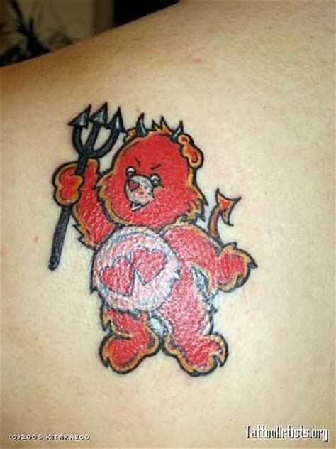 cartoon tattoo artist san diego 17 best images about care bear tattoo on pinterest