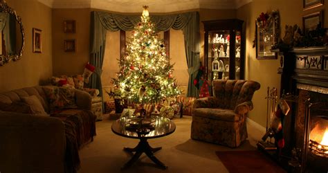 christmas living rooms gorgeous christmas scene background pictures pinterest