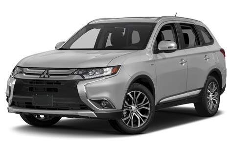 2017 white mitsubishi outlander 2017 mitsubishi outlander price photos reviews features