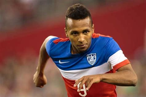 us soccer player landon donovan and julian green in the 59th minute us