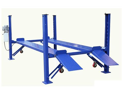 four post hydraulic car lift backyard buddy car lift