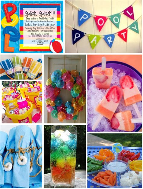 pool party ideas pool party invites images