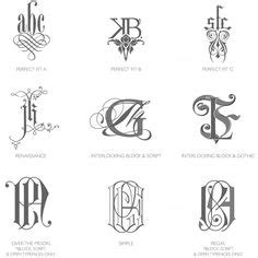 Wedding Bells In The Air Meaning by Monogram On Monograms Monogram Logo And