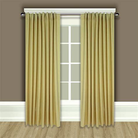 Glasgow Back Tab Curtain Panels » Home Design 2017