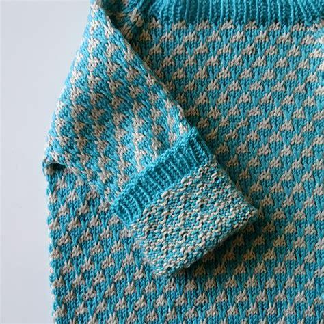 how to do mosaic knitting birkessweater