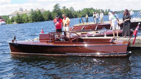 antique boat show antique classic boat show gravenhurst 2017 youtube