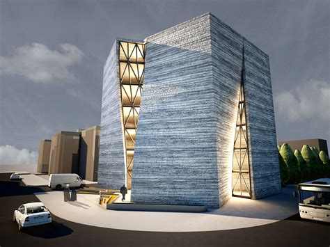 architectural and building engineering technology qom central building of construction engineering