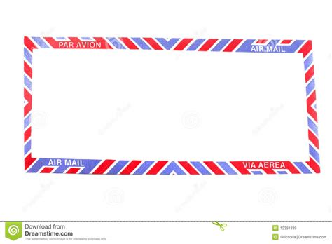 envelope border pattern air mail envelope border royalty free stock images image