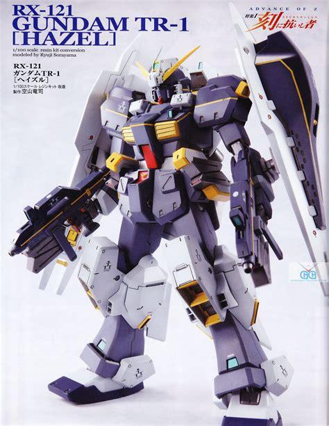 Rx 121 2 Gundam Tr 1 Hazel Ll Bandai advance of z rx 121 gundam tr 1 hazel rms 106 hi zack epidendrum hobby magazine may