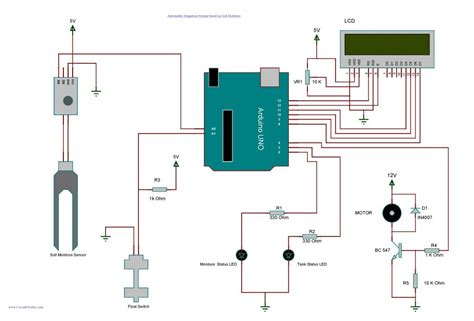 arduino irrigation  automatic plant watering  soil