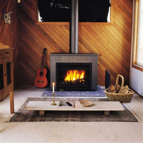 Free Standing Wood Fireplace by Jetmaser Universal Freestander Wood
