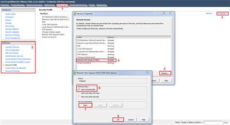 Mba Configuration Menu Dell Esxi by Enabling Ssh In Vmware Vsphere 4 1 Esxi Michael S